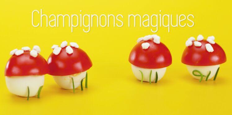 Cuisine créative : des champignons merveilleux
