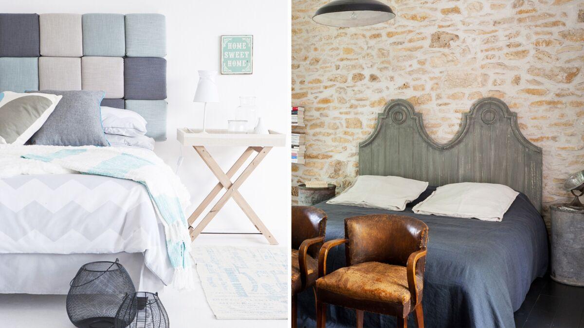 Tete De Lit Avec Coussin Comment Faire plein d'idées pour fabriquer une tête de lit : femme