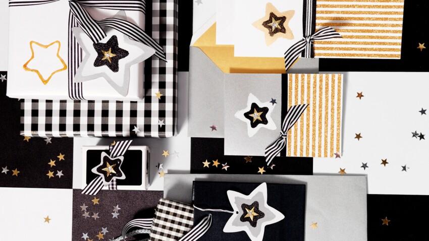 Noël : cartes, emballages de cadeaux et étiquettes