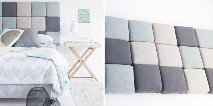 Bricolage : une tête de lit matelassée