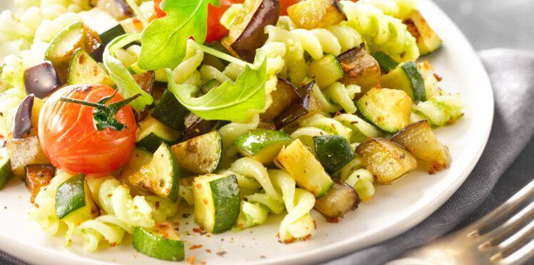 Fusilli aux légumes grillés
