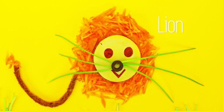 "Cuisine créative : une tartine ""lion"""