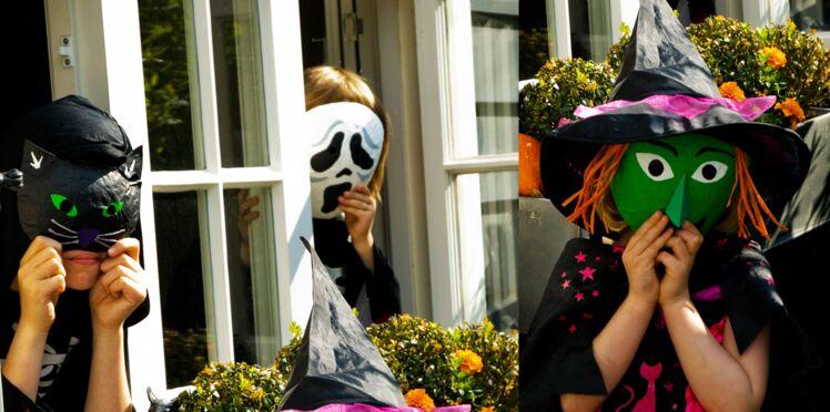 Des masques d'Halloween
