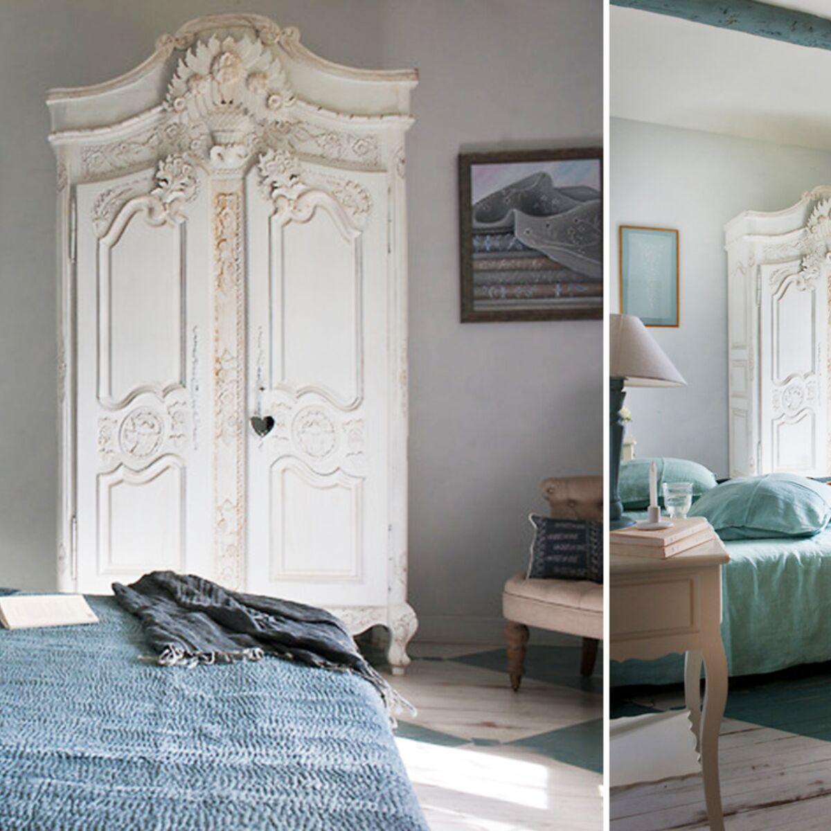 Chambre Provencale Idee Deco une chambre au style provençal : femme actuelle le mag