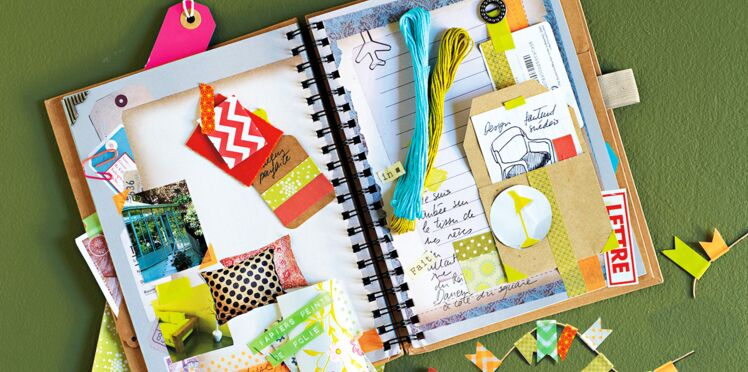Scrapbooking : un carnet de souvenirs