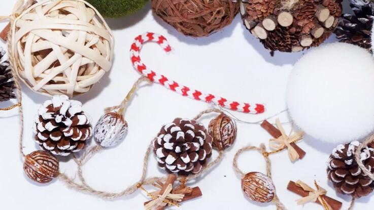 Noël en Rainbow Loom : un sucre d'orge en élastiques