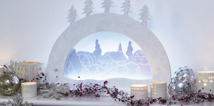 """Bricolage de Noël : une applique """"sapin"""" en bois"""