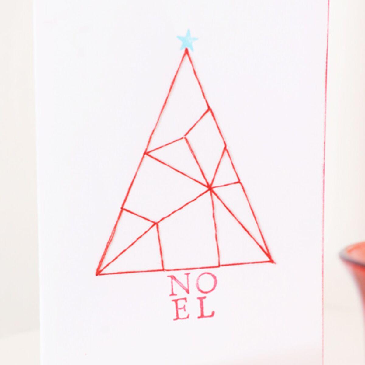 Fils Carte de Noël