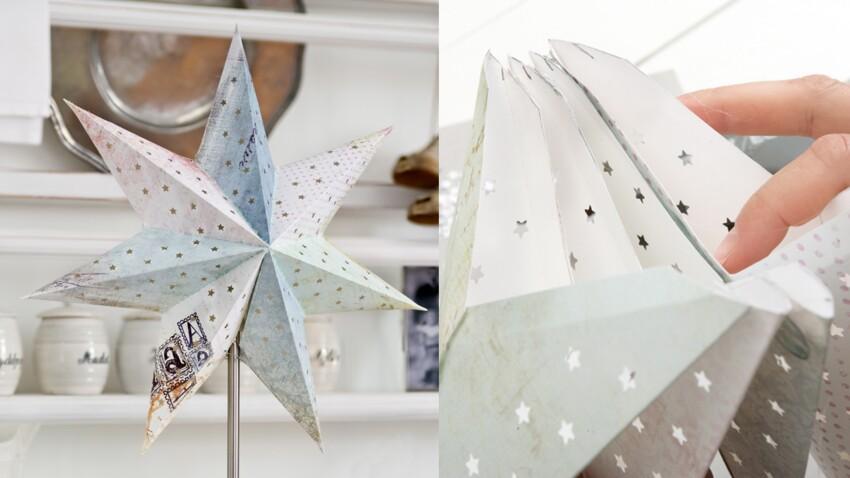 Décoration de Noël : une étoile à 7 branches