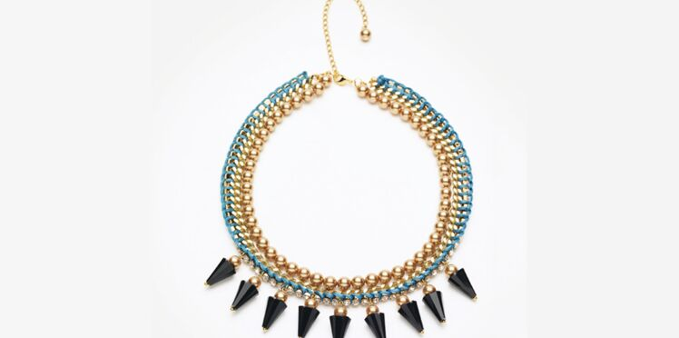 Un collier rock & roll tendance aztèque