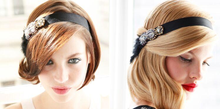 Pas cher, un headband bijoux pour les fêtes