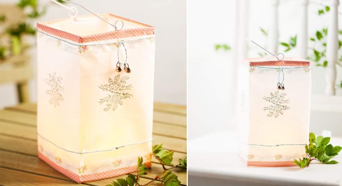 Des lanternes en papier pour Noël