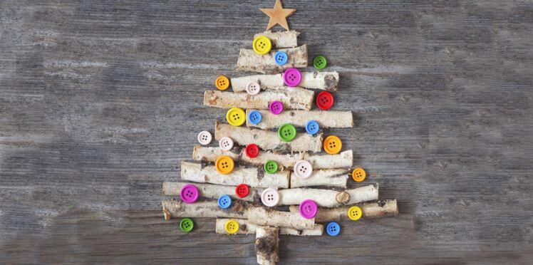 Des sapins de Noël originaux en bois