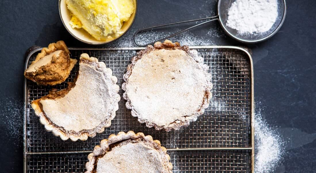 Tartelettes gypsy au sucre muscovado