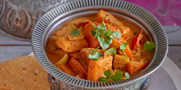 Sambhar ou curry de légumes
