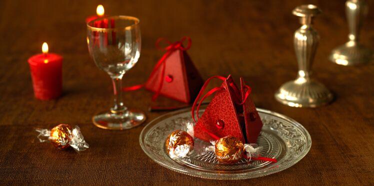Cartonnage : un berlingot surprise pour Noël