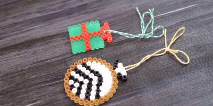 Décorations de Noël en perles à repasser