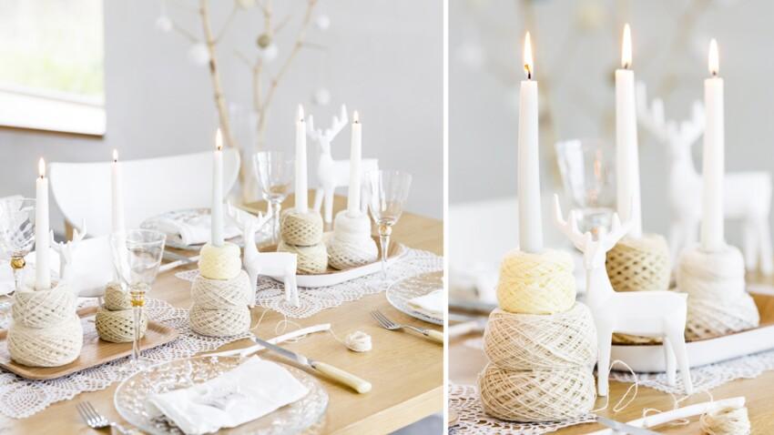 Nos idées créatives pour une décoration de Noël en blanc