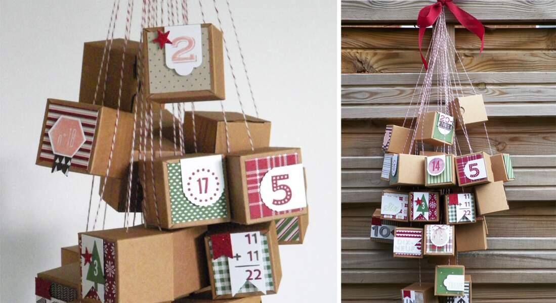 24 petites boîtes surprises