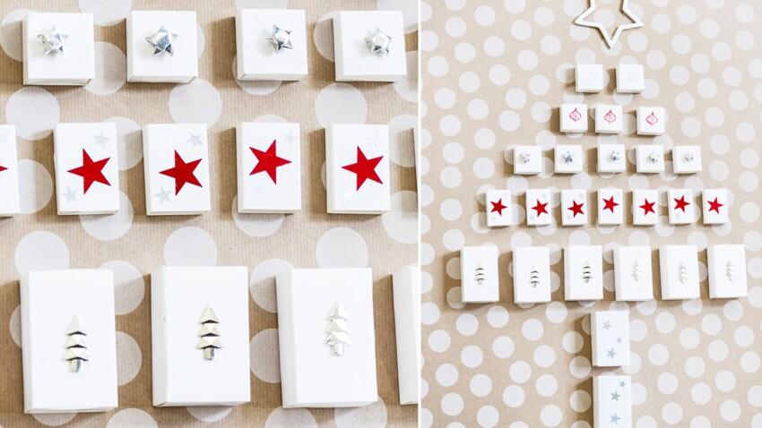 Petites boîtes surprises de l'Avent