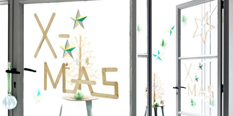 Décos de Noël pas chères et originales sur les fenêtres