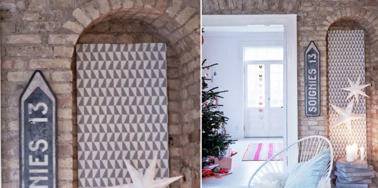 Papier peint : décorer une niche