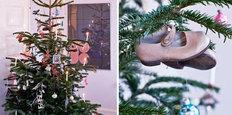 Décorer son sapin de Noël avec des objets de récupération