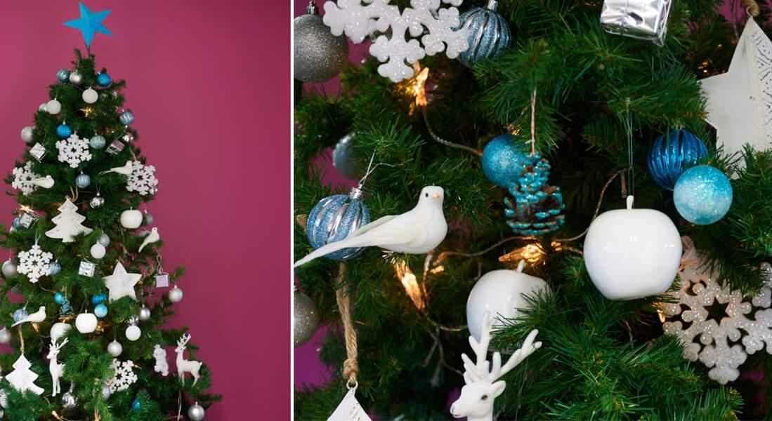 Katherine /'s collection petit oiseau sur Cloche Noël Hiver arbre de Noël