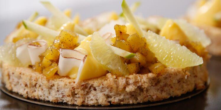 Le gâteau ananas-coco de Jonathan Blot