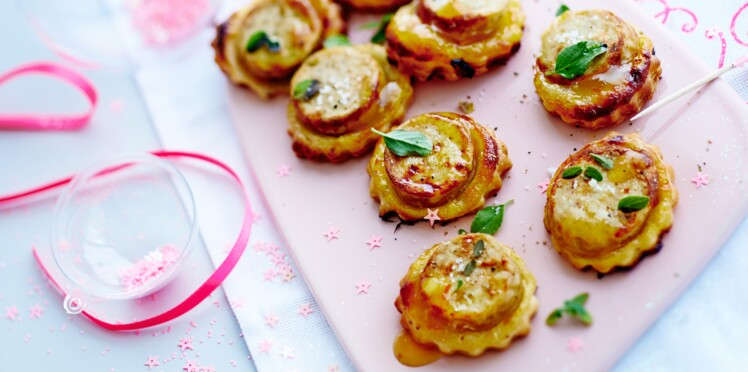 Tartelettes au boudin blanc