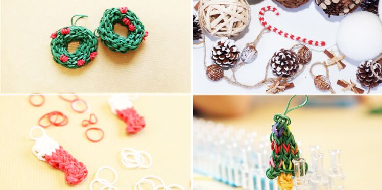 Rainbow Loom : des sujets de Noël en élastiques