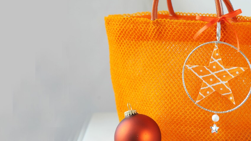 La breloque de sac étoile