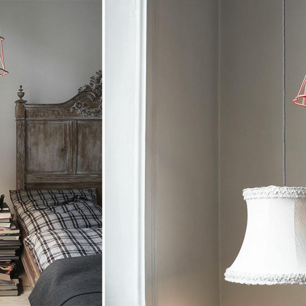 Fabriquer Lampe De Chevet Suspendu duo original de lampes de chevet de récup' : femme actuelle