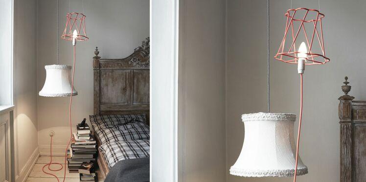 Duo original de lampes de chevet de récup'
