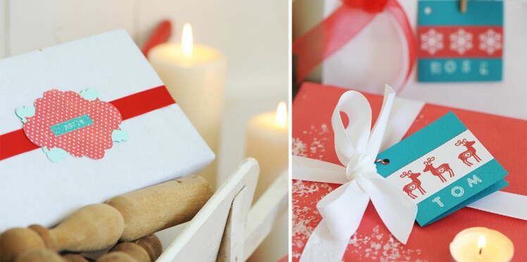 Des étiquettes fait-maison pour personnaliser vos cadeaux