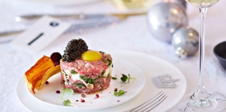 Tartare de veau au caviar
