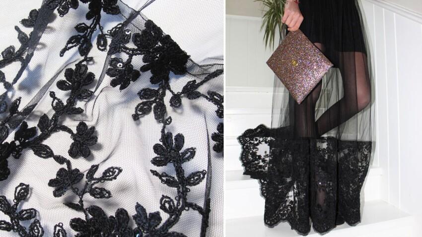 Ma petite robe noire revisitée pour les fêtes...