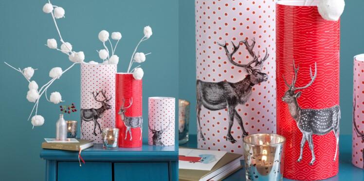 Express et pas cher, des vases décorés de cerfs