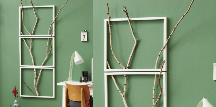 Déco murale en bois : un cadre tendance