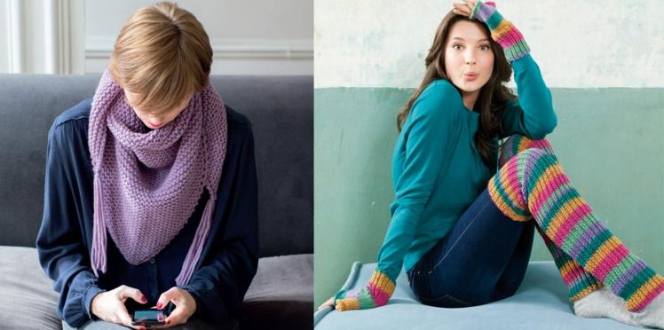 Nos accessoires d'hiver au tricot et au crochet