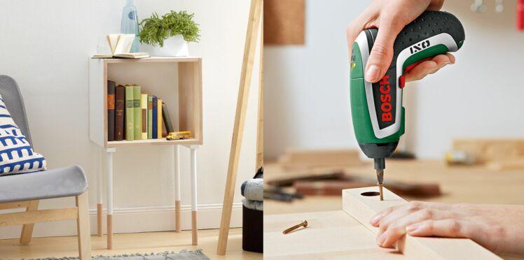 Petits meubles en bois : fabriquer une table originale