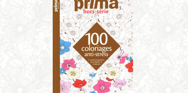 Prima Hors-série 100 coloriages anti-stress