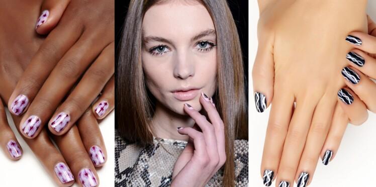Nail art ethnique en 3 versions
