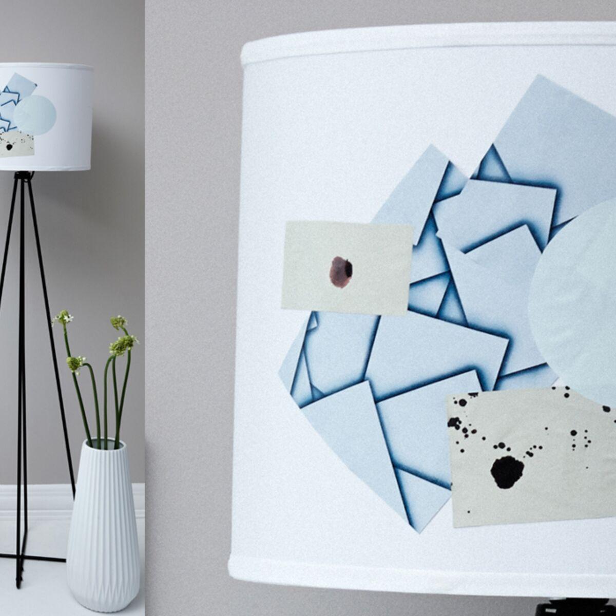 Comment Customiser Une Lampe De Chevet comment personnaliser un abat-jour blanc : femme actuelle le mag