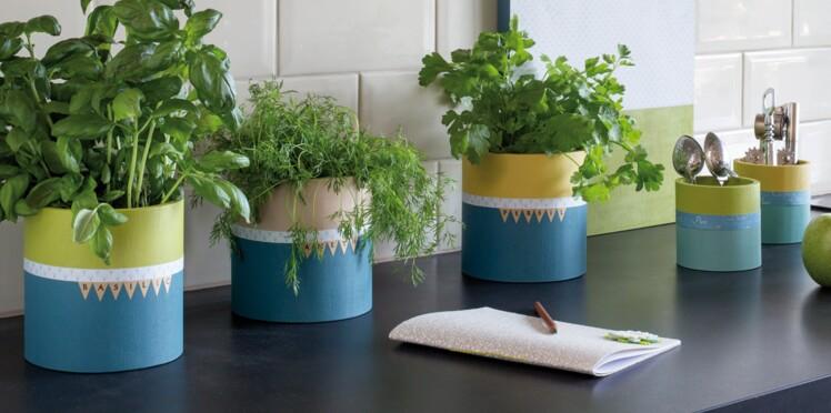 Des Pots A Plantes Aromatiques Originaux Pour Ma Cuisine