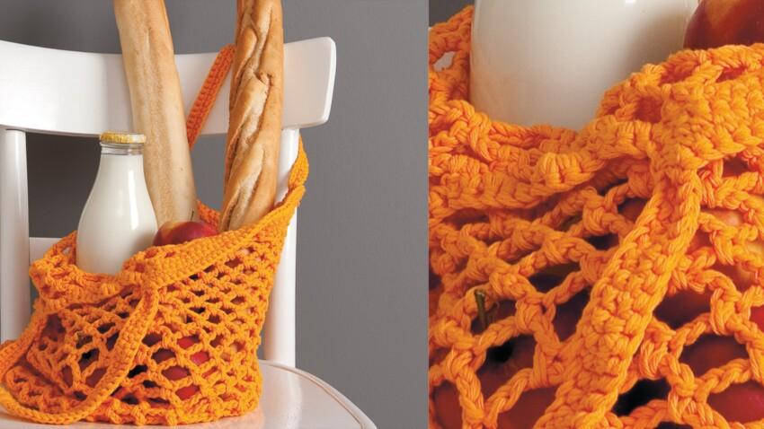 Un sac au crochet, pratique et tendance