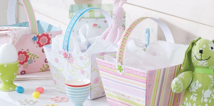 Facile et pas cher : un panier de Pâques à fabriquer