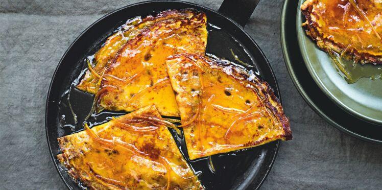 Crêpes Suzette à la mandarine