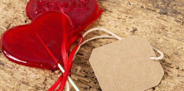 Saint-Valentin : des étiquettes pour décorer vos cadeaux