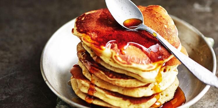 Pancakes au sirop de châtaigne